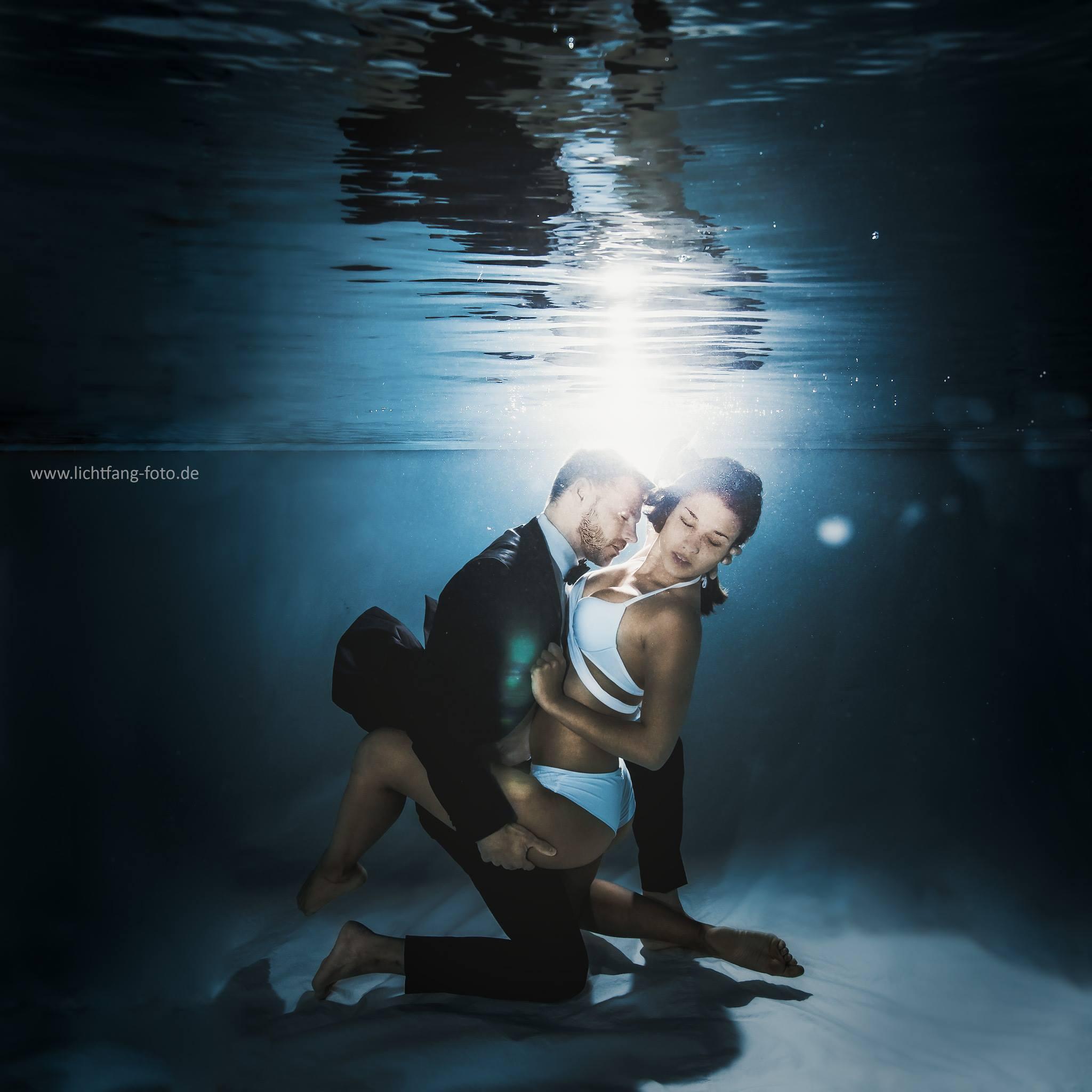 Unterwasser - After Wedding - Lichtfang Fotografie