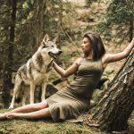 Wolfshund mit Mona - Wolfshundshooting