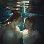 Unterwassershooting Paar