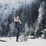 Wolfshundshooting im Thüringer Wald