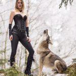 Wolfshundshooting mit Nadja