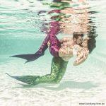 Mermaid, paar, couple, meerjungfrau