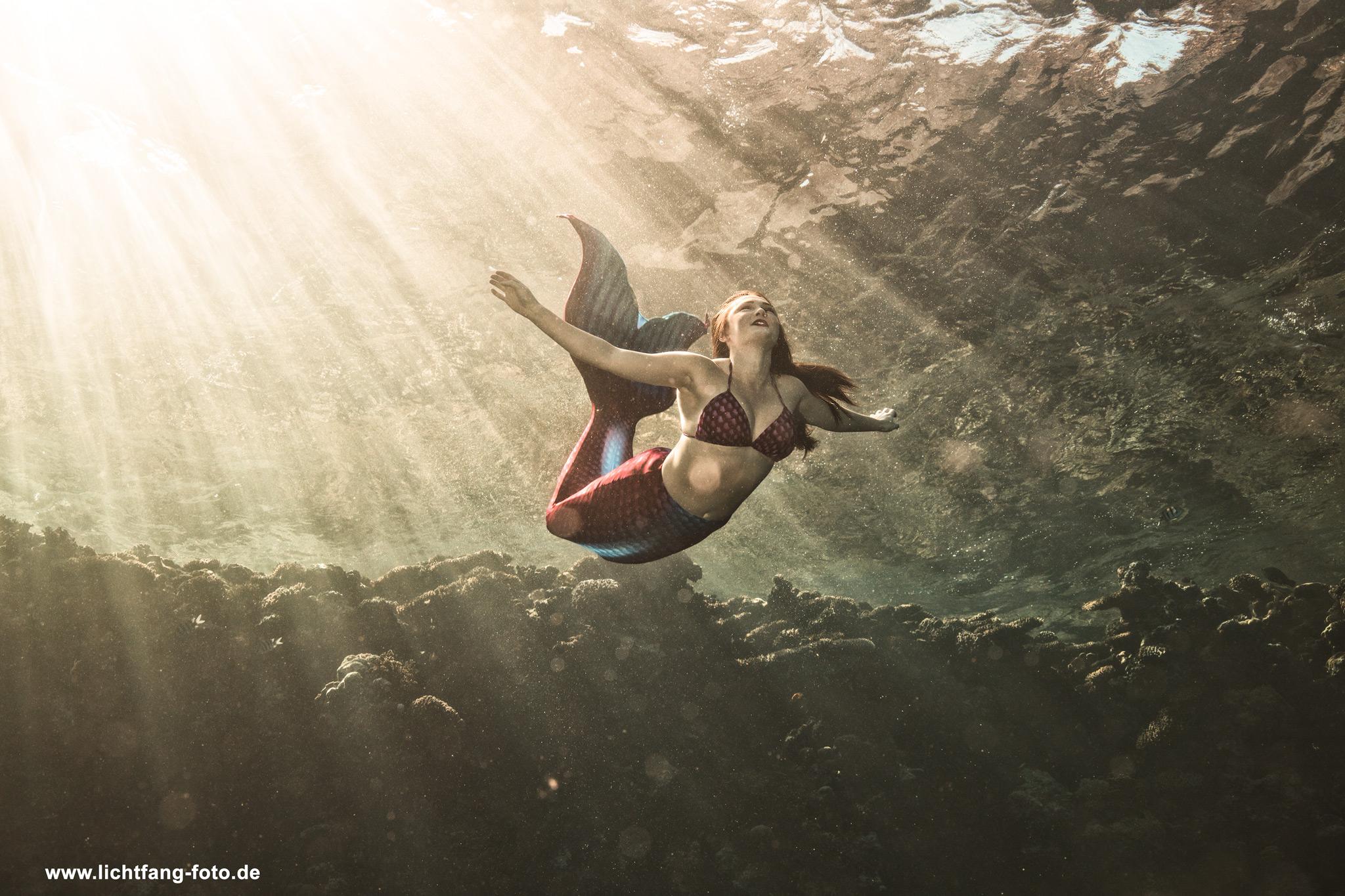 Unterwasser Fotoshootinglichtfang Fotografie Weimar