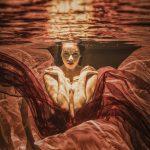 Underwassermodel Maria