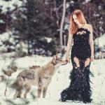 Wolfshundshooting mit Susi
