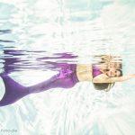 Meerjungfrauen Fotoshooting im Pool