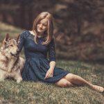 Wolfshundshooting mit Celina 5
