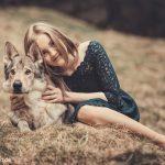 Wolfshundshooting mit Celina 3