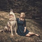 Wolfshundshooting mit Celina 10 in Thüringen