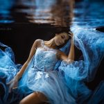 Fashion underwater shooting