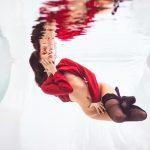 fine art nude underwater Shooting
