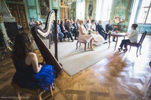 Eheschließung auf Schloss Heidecksburg