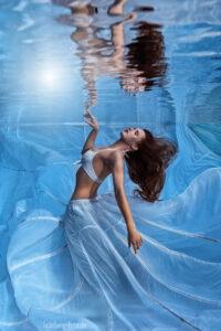 Unterwasserfoto mi Viola Brand